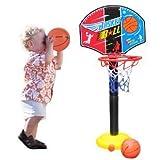 拇指奇特  可升降 篮球架 配打气筒 宝宝投篮玩具 儿童篮球架 儿童室内玩具  亲子互动-图片