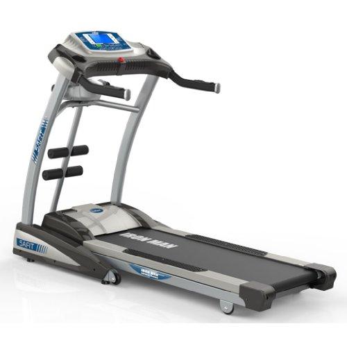 【暑期疯享惠 全国包邮 免费上门安装 送跑步机垫和硅油】5AFIT 我爱健身 多功能智能电动跑步机 IRONMAN-2M 家用 超宽跑台 超静音 低噪音 可折叠 避震-图片