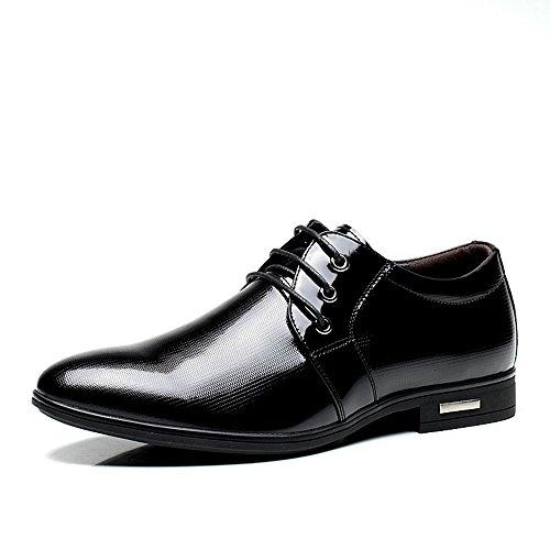 FGN 富贵鸟 男鞋男式韩版头层牛皮商务正装皮鞋英伦时尚潮系带经典休闲鞋真皮男鞋婚鞋