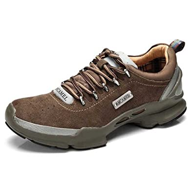 AMCAMEL 花旗骆驼 男鞋正品 舒适防滑耐磨 户外运动男鞋 H2358001