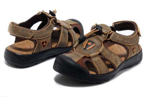 Deewahua 新款包头时尚潮流男士日常户外沙滩鞋 溯溪鞋 登山凉鞋 百搭日常休闲男鞋
