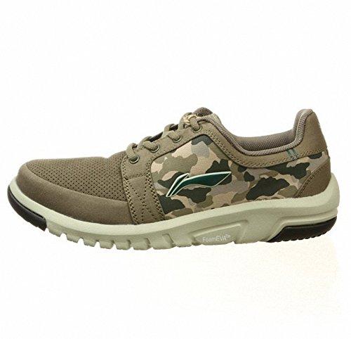 Lining 李宁 李宁男子保护色户外远足鞋 野外徒步鞋运动鞋 AHTG013-1