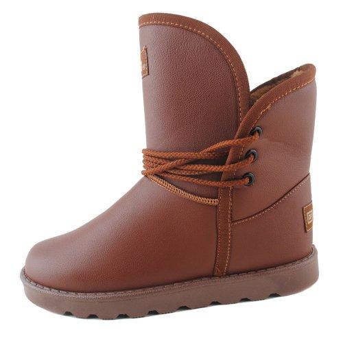 Warrior 回力 雪地靴 加厚防滑雪地靴 防水雪地靴雪地鞋棉鞋皮面