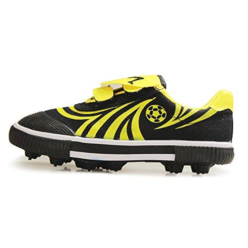 DOUBLE STAR 双星 DS828 儿童小孩鞋碎钉底 人造草地足球鞋 胶钉室外训练鞋子