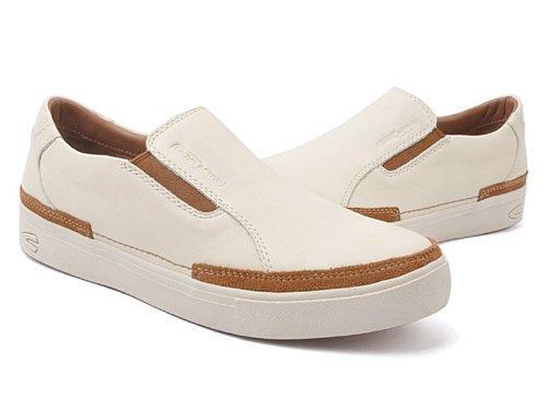 Camel Active 骆驼动感 舒适套脚白色商务休闲鞋 男 男休闲鞋 189103143米白 white