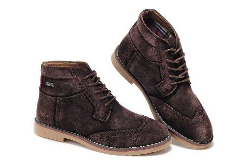 Guciheaven 英伦风时尚型男最爱 柔软反毛皮舒适透气休闲鞋 复古牛仔风潮鞋 反毛牛皮休闲鞋 男鞋