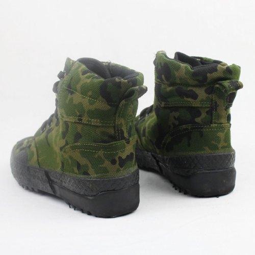 男式帆布鞋高腰
