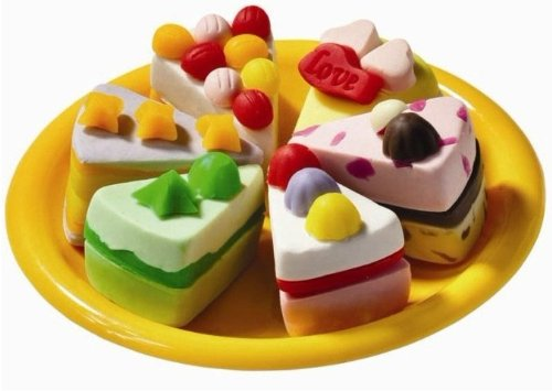 酷趣 艺智宝 彩泥玩具套装 生日蛋糕 卡酷手工正品 益智宝 橡皮泥3d