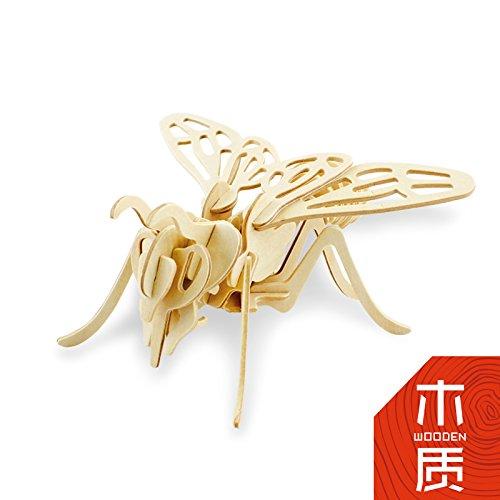 孩派3d木质立体拼图 智力玩具diy益智拼装模型 儿童各种qq怎么弄指定红包生肖 (jp