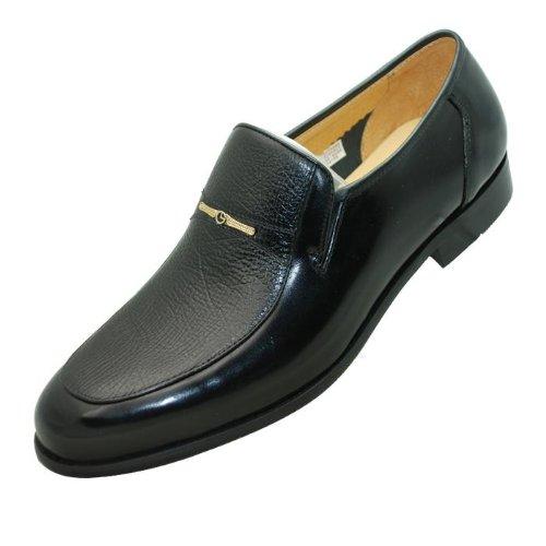 2012年★金利来男鞋/男式秋季新款皮鞋*154238 黑色