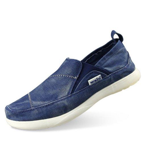WALU 沃尔卢 2013新款透气男鞋休闲鞋风尚沃尔卢帆布鞋便鞋W307