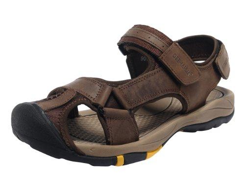 DEEWAHUA 2014夏季男鞋凉鞋沙滩鞋 新款头层磨砂皮 9076