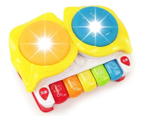 6合1多功能宝宝故事音乐鼓手拍鼓 早教益智玩具-图片