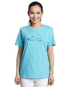 Jack WolfSkin 春夏户外 女式 抗紫外线有机棉 T恤 5002071  (多色可选,可两件9折  )    75.32 元