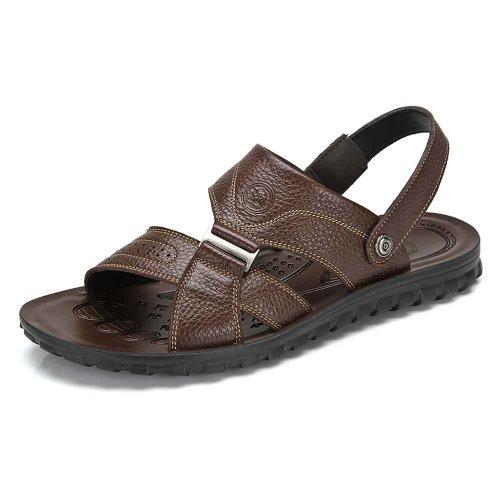 【清仓特价】骆驼牌 男鞋 夏季新款潮男鞋日常休闲透气凉鞋子 W422287006