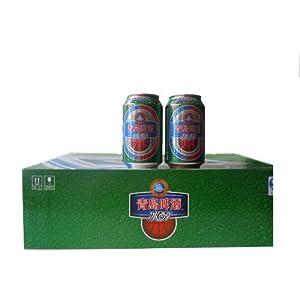 青岛啤酒冰醇听装330ml*24
