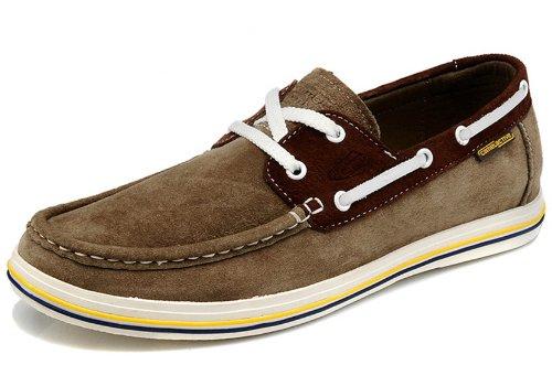 Camel Active 骆驼动感 新款男鞋 英伦时尚休闲鞋 豆豆鞋 板鞋 平底徒步鞋