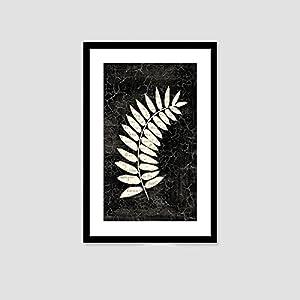 植物平面图例黑白手绘