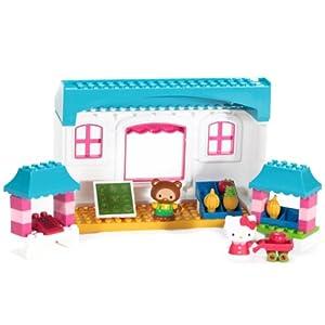 mega bloks 美高 积木拼插玩具 fruit market美高 凯蒂在水果市场 55