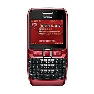 诺基亚E63(WCDMA/GSM)3G手机(红)