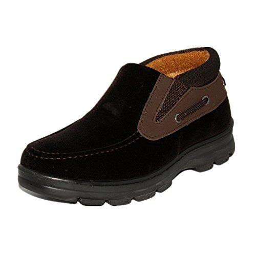 玉兰老北京布鞋男款休闲鞋中梆防滑男棉靴 1616-93
