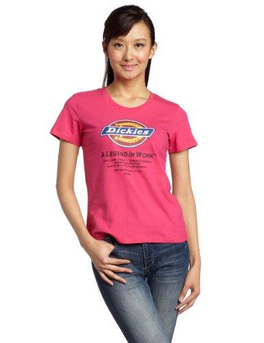 Dickies 女式 休闲系列 LOGO针织T恤衫 932067