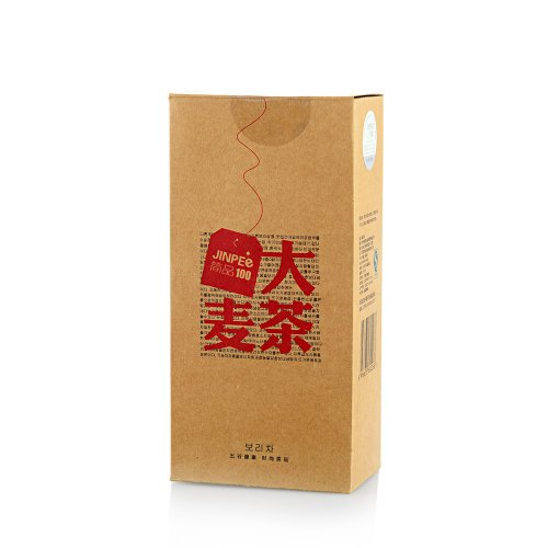 简品100 精选养胃大麦茶 袋泡茶 盒装-图片