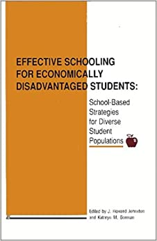 Effective Schooling for Economically Disadvan