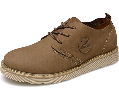CAMEl ACTlVE 英伦系带户外复古透气低帮真皮商务休闲鞋工装鞋马丁鞋皮鞋单鞋时尚潮鞋 男鞋子