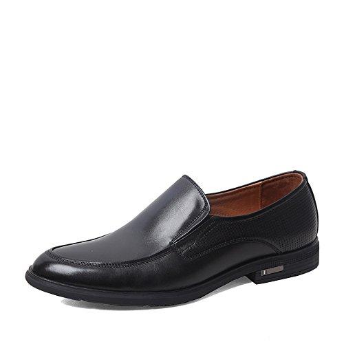 Senda 森达 森达春季专柜同款打蜡牛皮商务休闲男单鞋 1DW06AM5