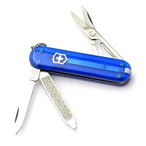 Victorinox维氏军刀 透明蓝典范军刀0.6223.T2
