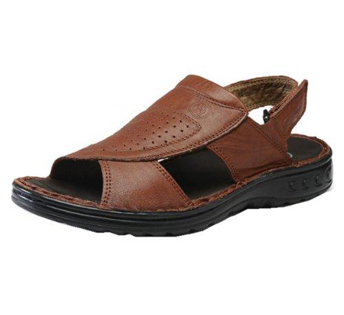 Camel 骆驼牌 户外凉鞋系列 时尚小孔 经典车缝 精美舒适 涉溪款 沙滩鞋 经典款 男凉鞋