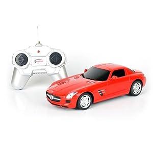 星辉遥控车模 24 奔驰sls amg 跑车 遥控车汽车模型玩具高清图片