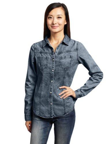 Converse 匡威 服装系列 女式 长袖休闲衬衫 05542C