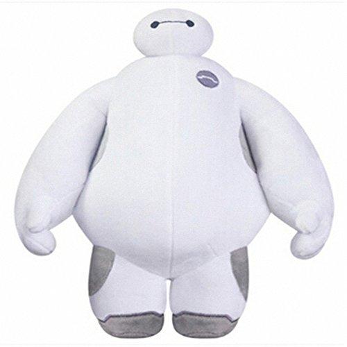大白超能陆战队白胖子抱枕毛绒玩具baymax公仔布娃娃玩偶 儿童礼物 白