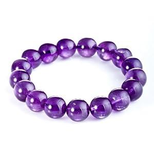 梦克拉天然紫水晶手链-紫色心情