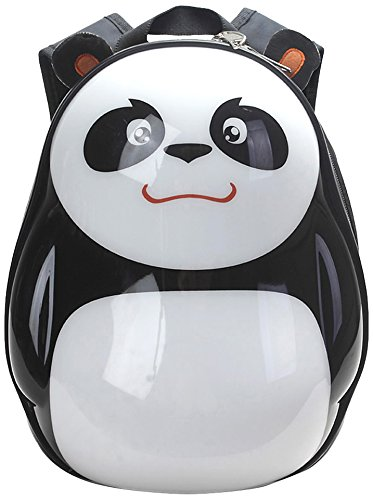 domoko 大拇哥 儿童书包旅行包 卡通蛋壳包 田田 熊猫
