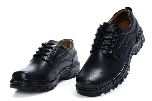 Guciheaven 英伦风时尚型男最爱 真皮大头皮鞋 日常商务休闲皮鞋 低帮男鞋增高鞋(可增高5厘米)