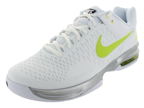 Nike 耐克 网球系列 男 网球鞋NIKE AIR MAX CAGE 554875-130 白/毒液绿/金属银/黑 44 (US 10)