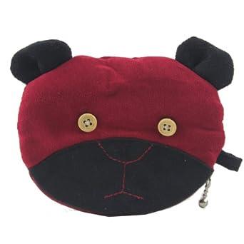 kaori 薰子 可爱熊头造型零钱包 女式 ktxt022