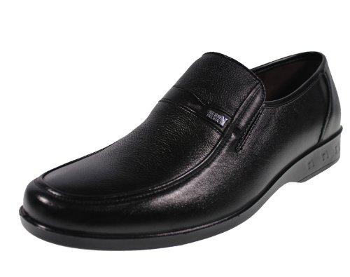 YEARCON 意尔康 日常休闲鞋真皮鞋男单鞋套脚男鞋子 25ZE90662K