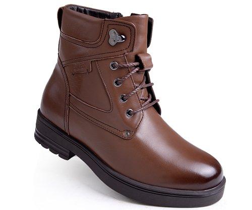 高哥内增高棉鞋94916统包高帮增高6.5cm男新款加绒马丁靴保暖鞋