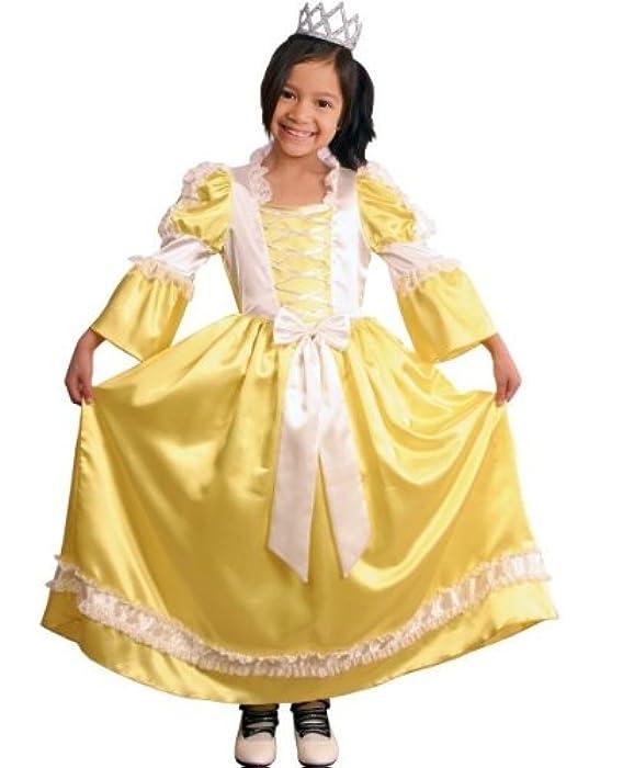 环保面料小女孩儿童演出服黄色公主裙小公主儿童化装舞会 (110码:适合