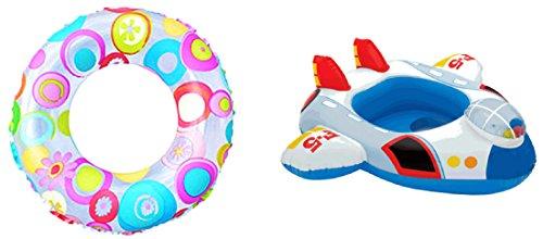 intex 戏水用品套装 戏水必备 婴儿座圈(喷气式飞机)