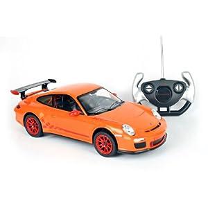 星辉遥控车模 14超大 保时捷911 gt3rs 跑车 遥控车汽车模高清图片