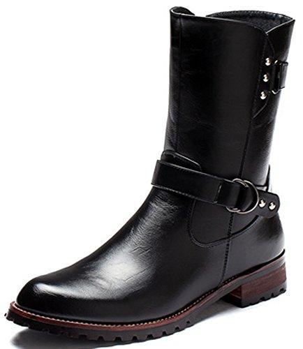 Unbeaten 韩版百搭 舞台靴 长靴 高筒靴 马丁靴 男靴 军靴 时装靴 高帮靴 牛仔靴 棉靴 保暖雪地靴 工装靴 男鞋