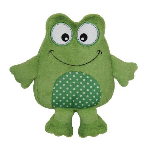 aromahome英国芳香之家柔软可加热小孩抱抱我青蛙玩偶 sm-0003绿色