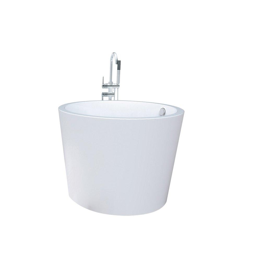 尚雷仕圆形浴缸亚克力独立式普通单人1
