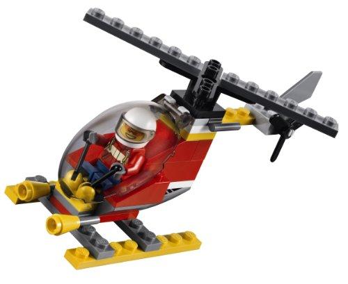 乐高消防飞机图片