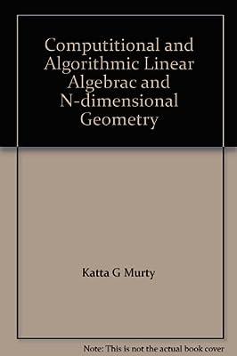 Computational and Algorithmic Linear Algebra and N-dimensional Geometry.pdf